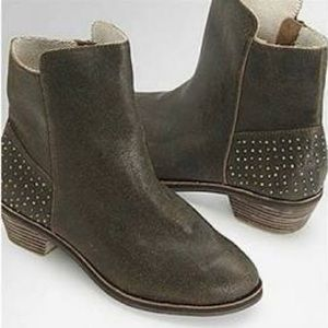 Reef Adora Duo Chrome Studded Leather Booties